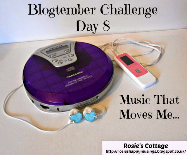 Blogtember Challenge Day 8 - Music that moves me