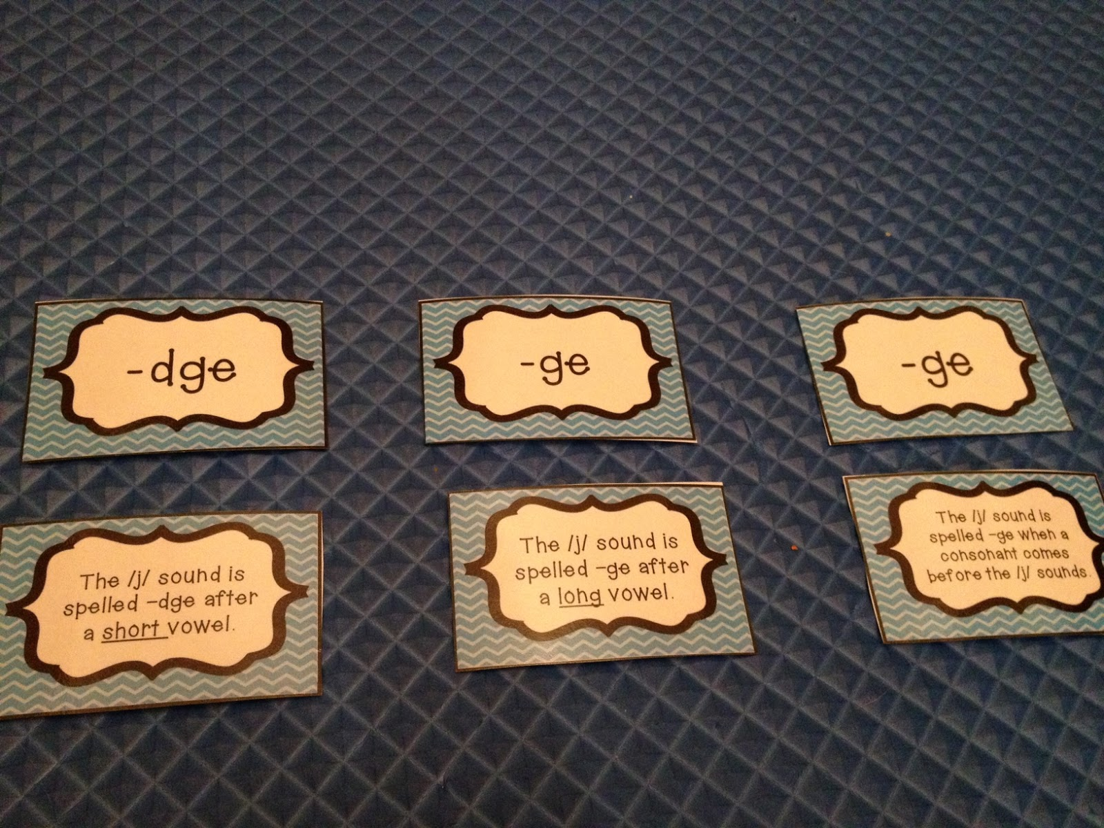 Teaching With A Mountain View Dge And Ge Word Ending