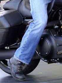 Asiento de moto bajo
