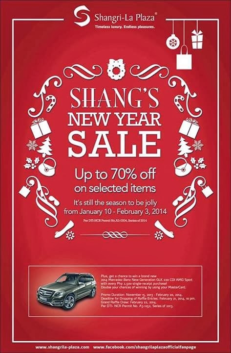 ff0f48a7886c09 ... Shangri-la Plaza New Year Sale Jan 10 to Feb 3 2014 hot sales 2c9ca ...