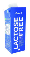 Amul Lactose Free Milk, 250ml (Pack of 4) For Rs 91 at Amazon