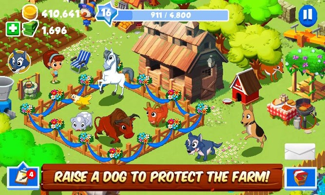 Green Farm 3 MOD APK [Unlimited Money]