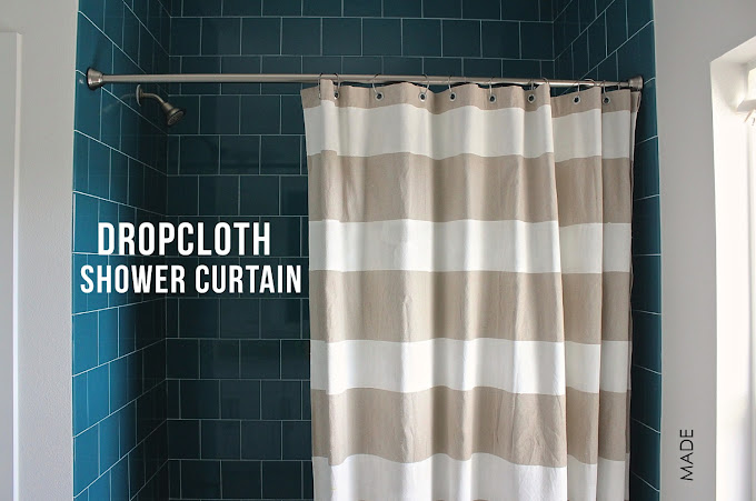 Dropcloth Shower Curtain Made Everyday
