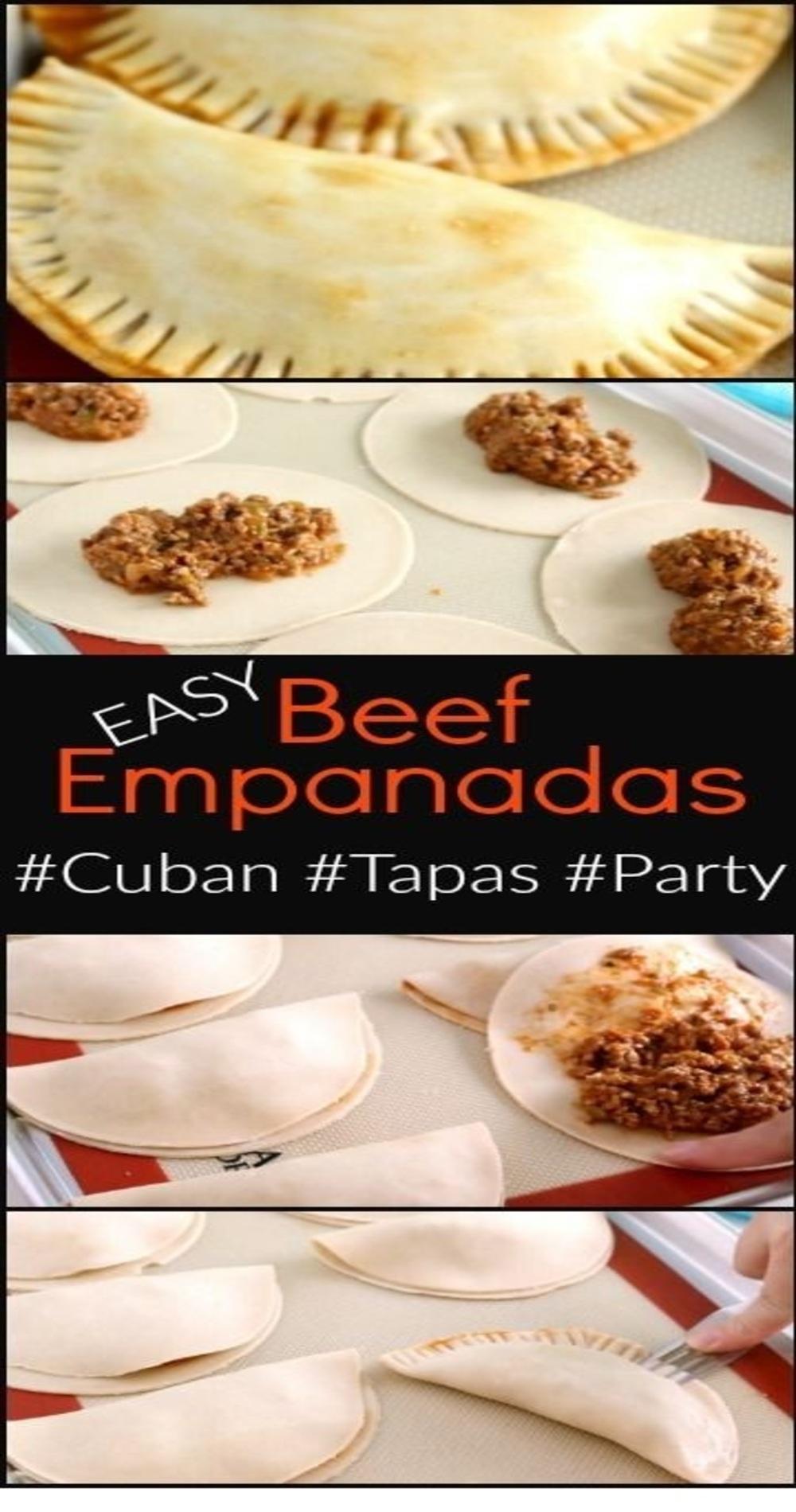 Shortcut Beef Empanadas