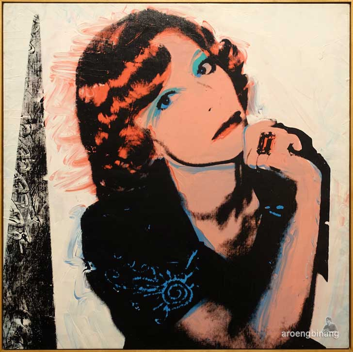 andy warhol portrait of madame smith