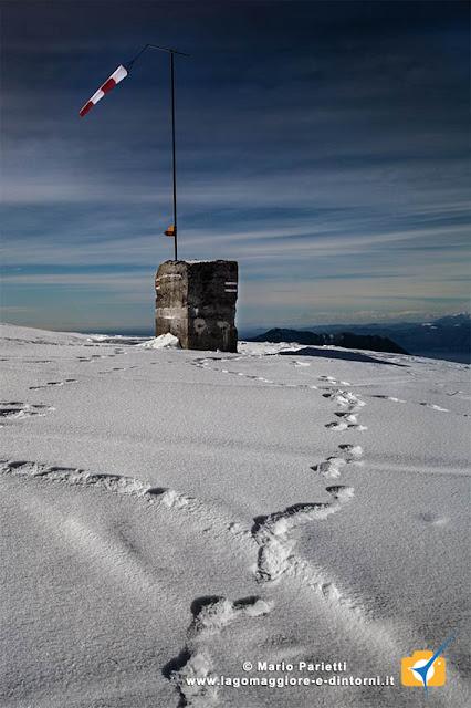 La vetta del Monte Lema
