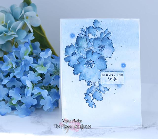 Flower challenge, Monochrome