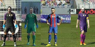 Kits FC Barcelona GDB 2016-2017 Pes 2013