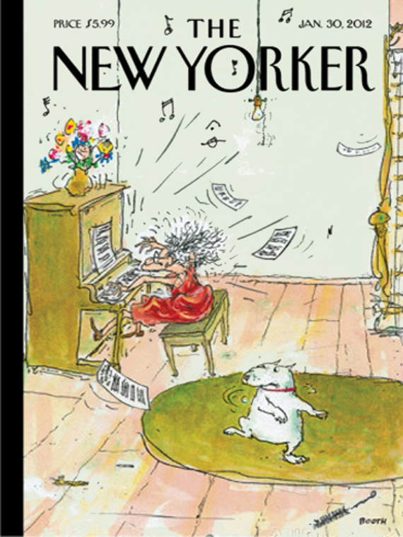 The New Yorker january 2012 cover