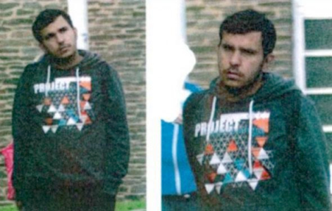 Photos: Three Syrian refugees help German police arrest bomb plot suspect