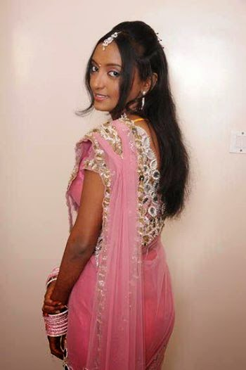 very cute indian girls at saree