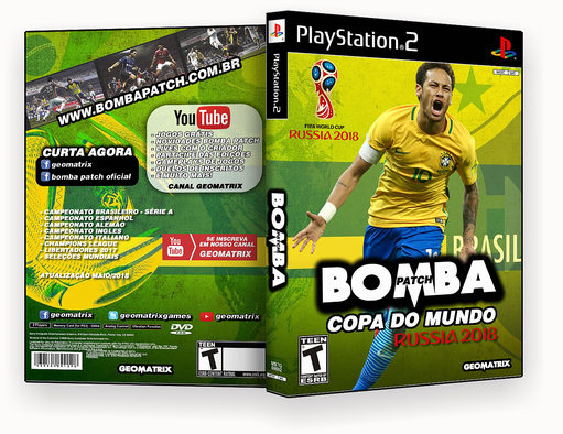 PS2 – BOMBA PACTH RUSSIA – ISO