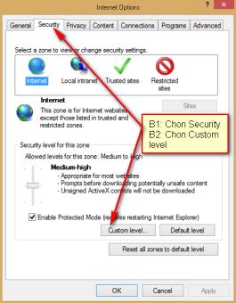 Hướng dẫn mở Java trên các trình duyệt Firefox, Chrome, IE, Safari