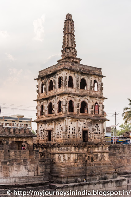 Banashankari Temple Guard Cum Lamp Tower