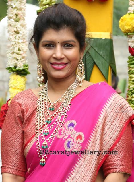 Nikitha Reddy Satlada Haar