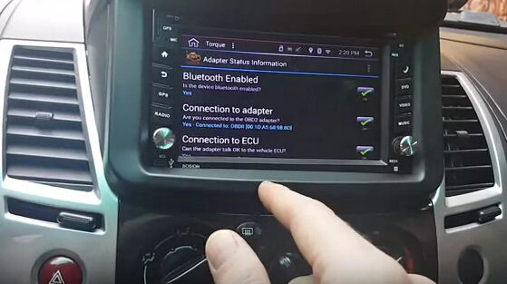 MINI ELM327 Bluetooth & TORQUE work on Android car stereo