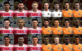 Facepack FC Dallas + Houston Dynamo Pes 2013 by cirkac-95