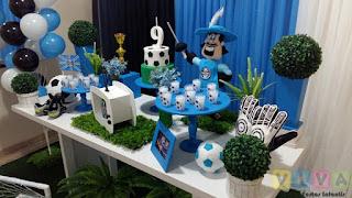 Decoração festa infantil Grêmio
