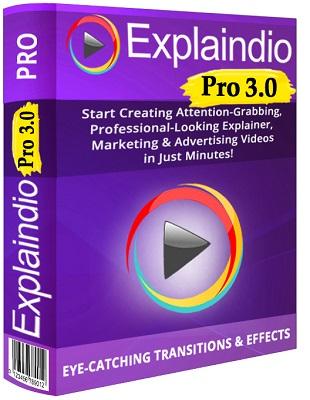 Explaindio Video Creator Pro 3.032 poster box cover