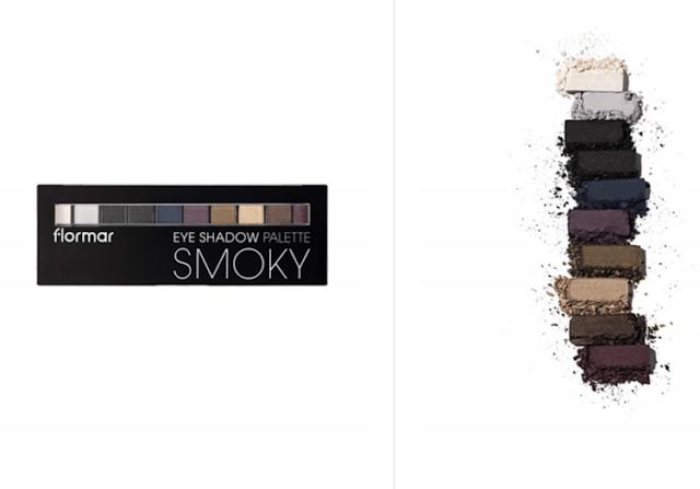 flormar smoky eyeshadow palette 002