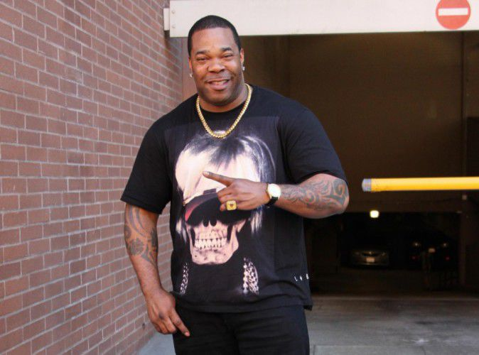 Busta Rhymes The rapper was arrested