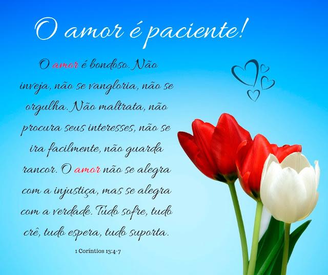 O amor é paciente, o amor é bondoso, Mensagens de Aniversario