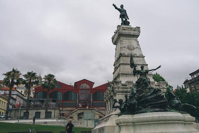 エンリケ航海王子の像(Monumento ao Infante Dom Henrique)