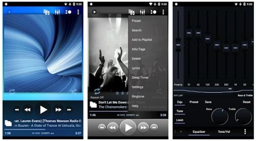 aplikasi android pemutar musik yang muncul di status BBM