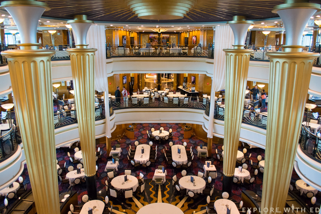 Explorer of the Seas, Ship Tour, Sapphire Dining Room