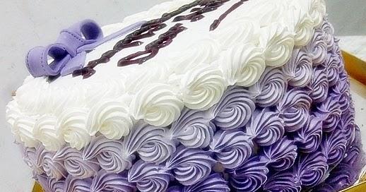 Resep Ombre Cake Ricke