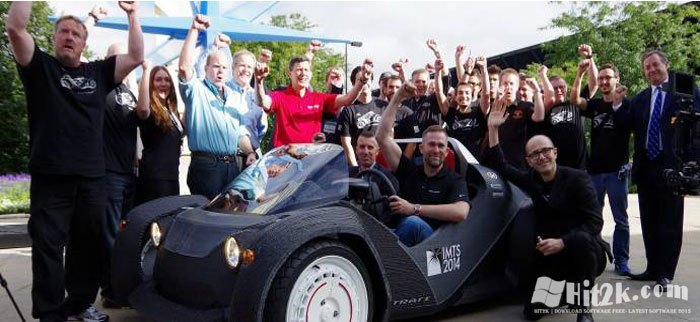 Strati, First Car Made by 3D Printer