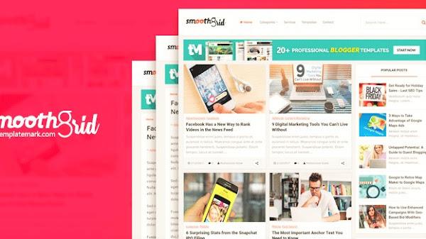 Download Smooth Gird Blogger Template