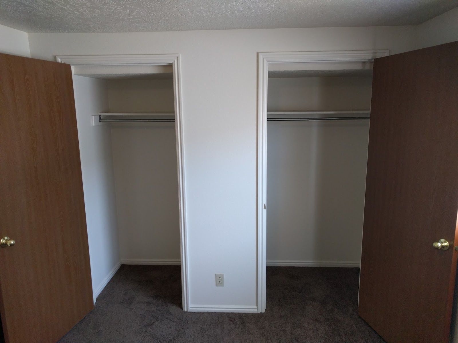 End Of Apartment To The Front Door