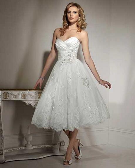 vestidos de novia cortos modernos