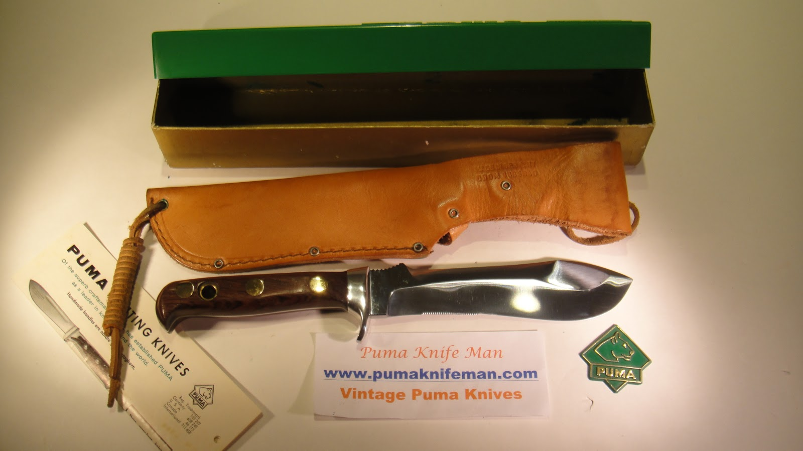 VINTAGE COLLECTIBLE PUMA KNIVES