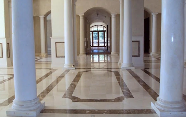 Marble flooring types, price, polishing, designs and expert tips