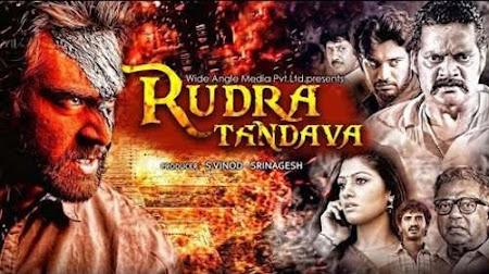 Poster Of Rudra Tandava In Hindi Dubbed 300MB Compressed Small Size Pc Movie Free Download Only At worldfree4u.com