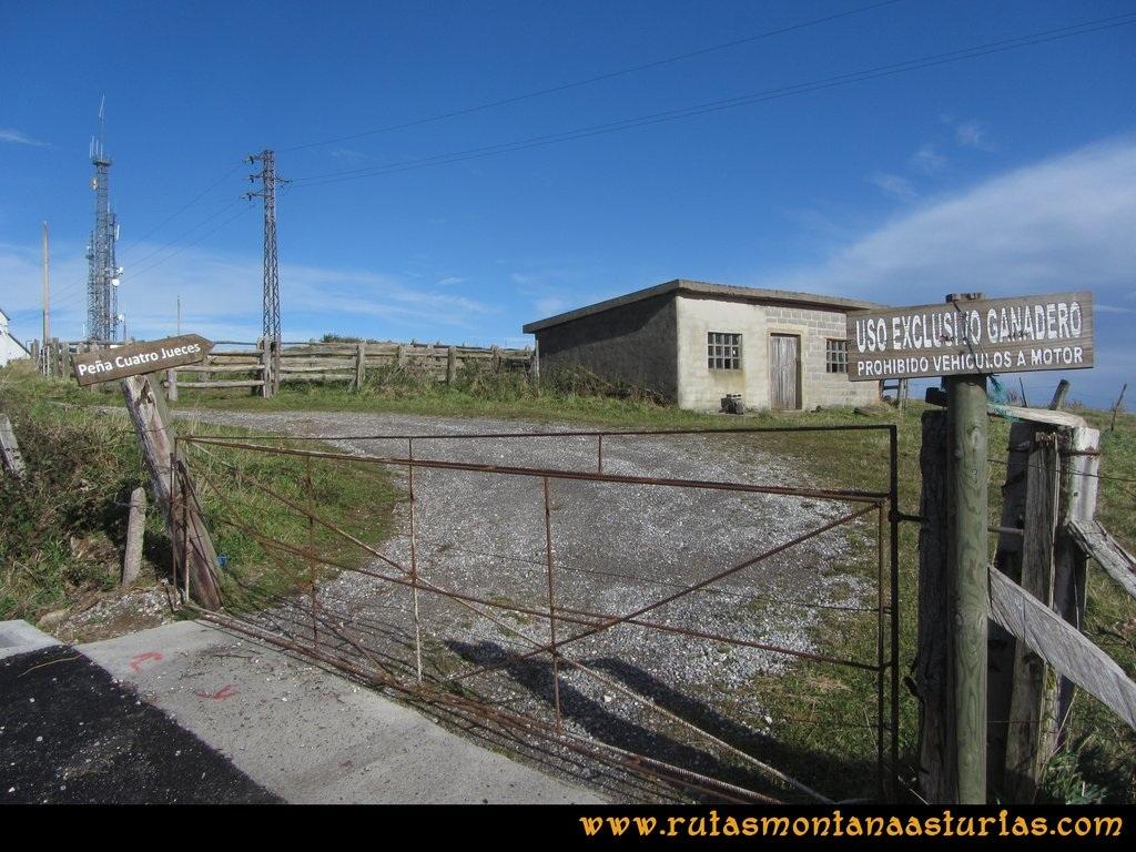 Ruta Deva, Gavio Cimero, Fario, Peña Cuatro Jueces:  Desde el Pico Cima o Fario a la Peña de los Cuatro Jueces