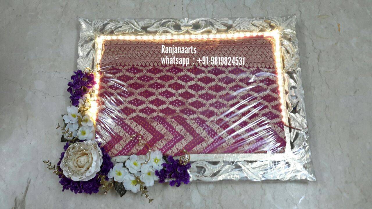 Trousseau packing decorative trays manufacturers and dealers aana trousseau packing decorative trays manufacturers and dealers aana decoration in india ranjanaarts junglespirit Image collections