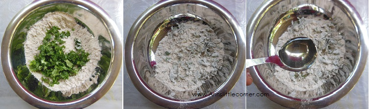 How to make Ajwain Chapati- Step 2