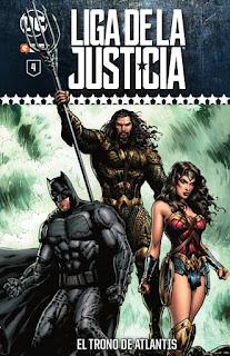 Liga de la Justicia: Coleccionable semanal tomo4