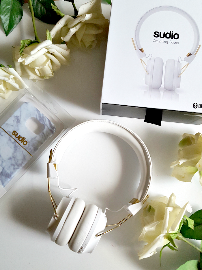 Review & Erfahrungen & technische Details Sudio Sweden - Regent White On-Ear Bluetooth Headphones