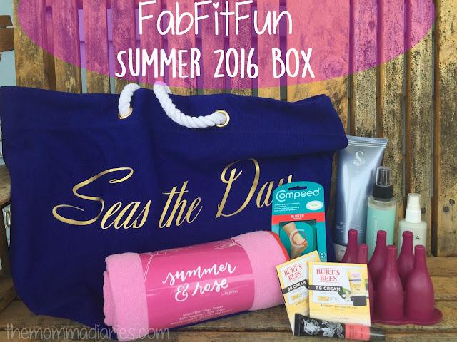 FabFitFun Summer 2016 Box, FabFitFun Promo Code