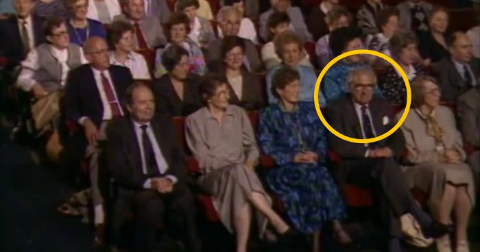 Man Who Saved 669 Children During The Holocaust Has No Idea They're Around Him, Watch His Reaction
