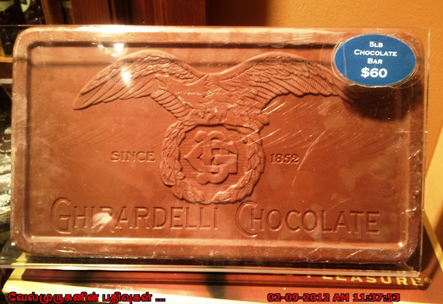 Ghirardelli Chocolates SFO
