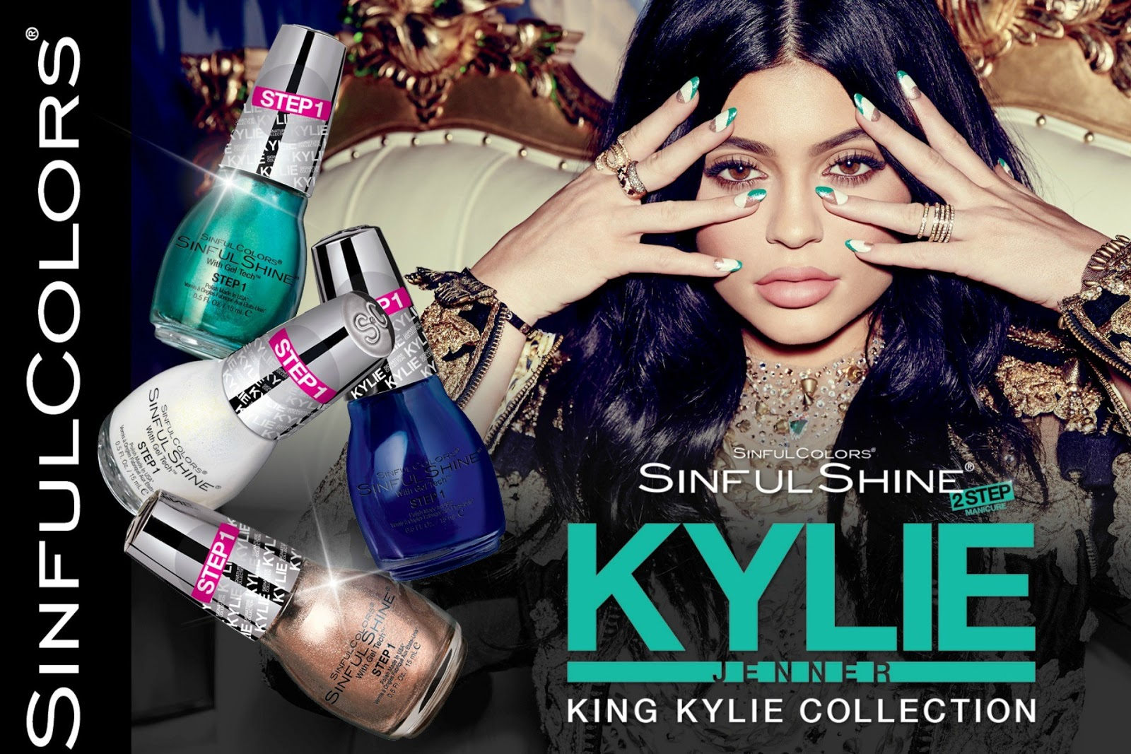 myacadaxtra: Kylie Jenner Launches New King Kylie Nail Polish ...