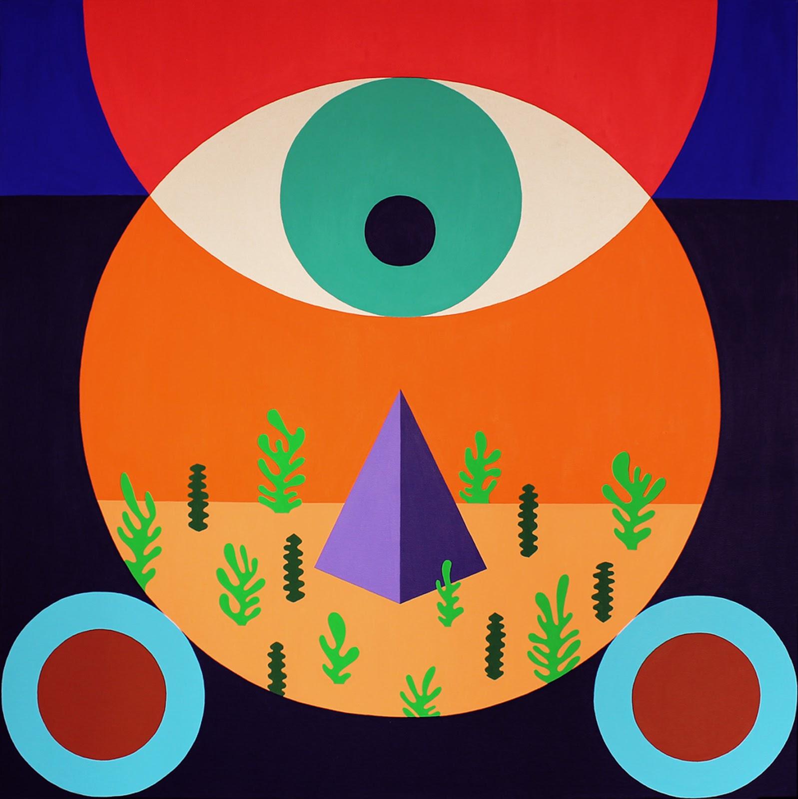 15a073adb62f2 ... o artista movimenta volumes, reinventa linhas, organiza espaços. Os  trabalhos de Gustavo Francesconi partem das misturas de cor e dos livres  encontros ...