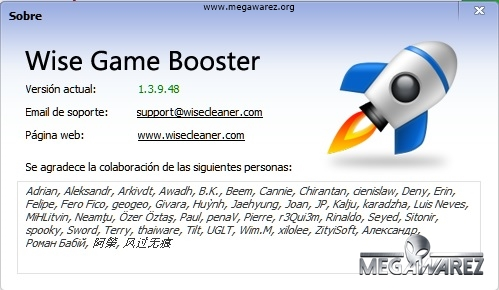 Wise Game Booster imagenes