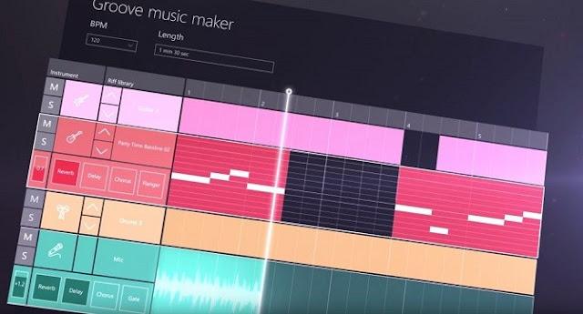 صانع الموسيقى Groove