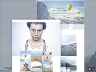 Freelance Photographer PSD Theme